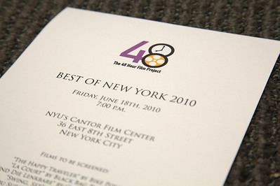 2010 . 48HFP .  NYC . The Best of New York