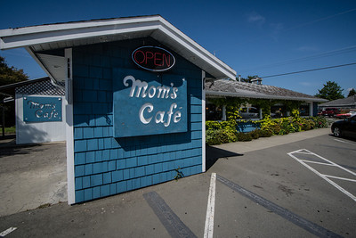 this is where our get-away began @ Mom's in Sooke, BC