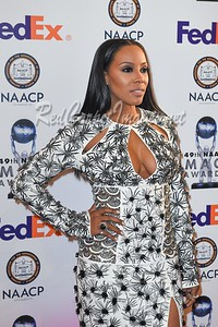 PASADENA, CA - JANUARY 14: 49th NAACP Image Awards at the Pasadena Civic Auditorium  on Sunday, January 14, 2018, in Pasadena, CA, USA. (Photo by Aaron J.)