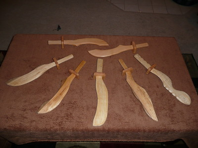 Pirate Swords - these measure approximate 17 inches - $7 each or two for $12