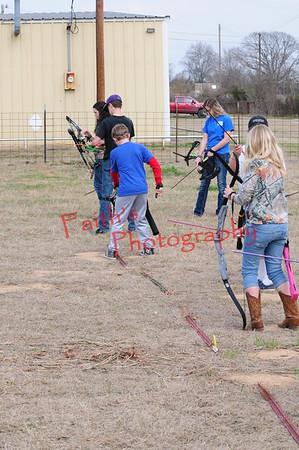 Archery Practice  020815