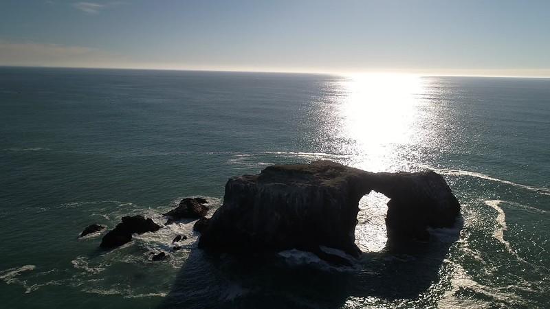 Ocean Arched Rock