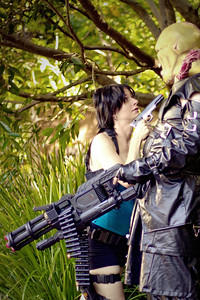Nemesis & Jill Valentine Unknown & Kristy Cartledge