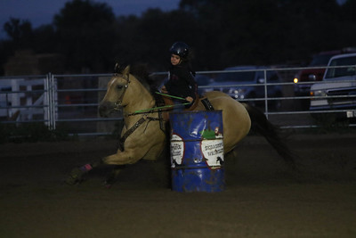 8-15-18 HAG Barrel Racing Series 3-8734