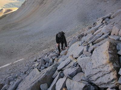 Mineral Basin Ridge (west peak) - 9/13/2017