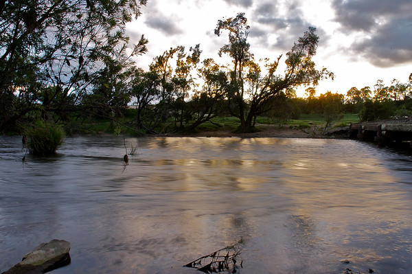Early morning on the Clarence River
