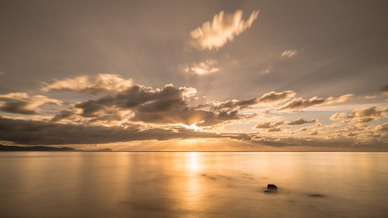ISHIKARI sunset