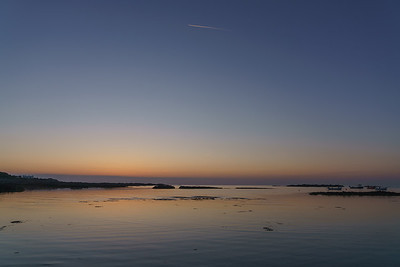 Sunset, Vazon Bay, Guernsey