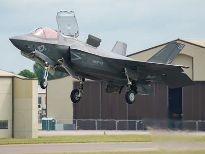 168726, F-35, F-35B, Lightning II, Lockheed Martin, RIAT2016, Refueling demo, US Marine Corps, VM-18 (17.1Mp)