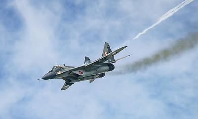 108, Fulcrum, Mig-29, Mikoyan-Gurevich, Polish Air Force, RIAT2016 (6.1Mp)