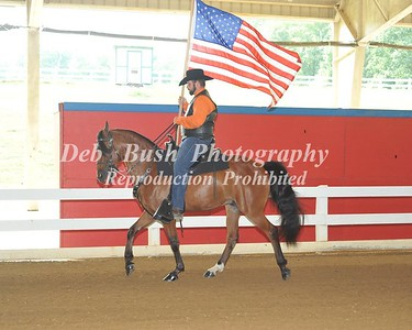 4th ANNUAL RIDE TO REMEMBER HORSE SHOW  CLEVELAND  TN  7-23-16