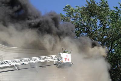 4th Alarm fire Chelsea Ma 57-59  Bellingham street 6/21/16