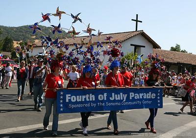 2014 4th July Sonoma Parade