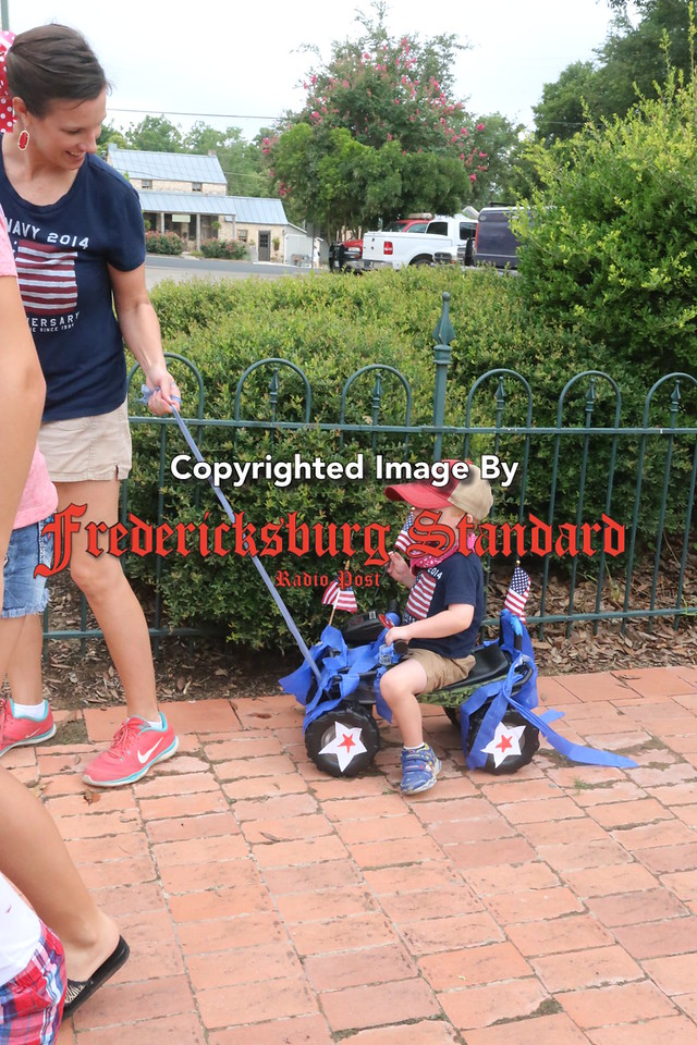 4th of July kids parade 7-6-16
