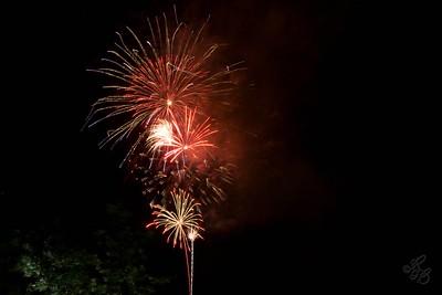 Charleston SC Yorktown Fireworks 2008