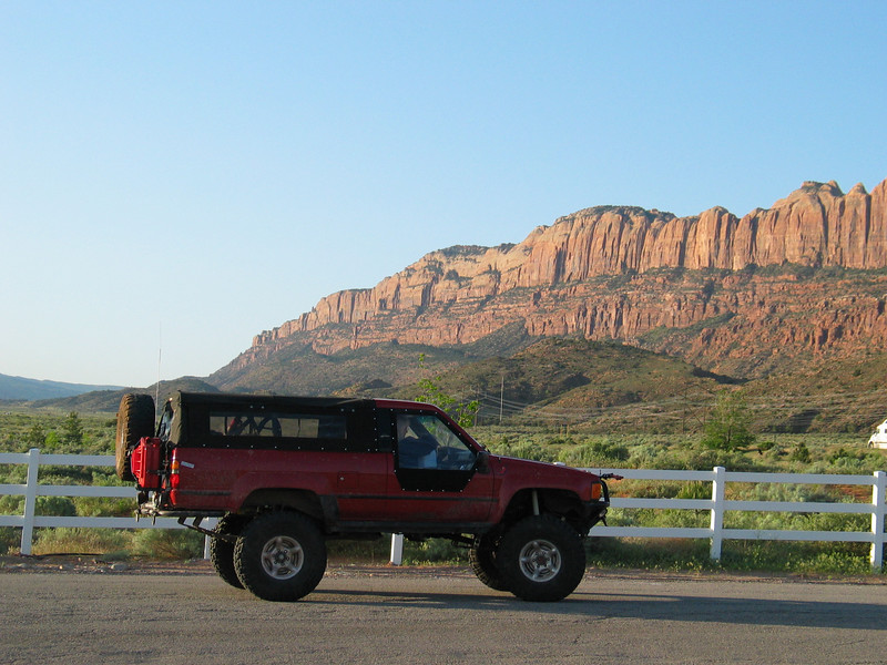 At Cruise Moab 2007, about four weeks before rolling her.