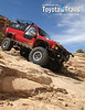 Wow, made the cover of an international magazine.  Even a magazine that favors Land Cruisers over Toyota Minitrucks/4Runners!<br /> Bonus points to whoever can figure out what part is missing from the Red Chili as she descends Wipe Out Hill in Moab... yeah, I broke *some*thing.  You guess what.