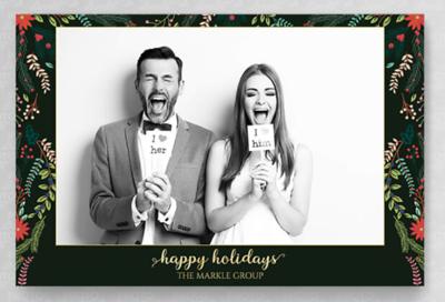 Happy Holidays 4x6
