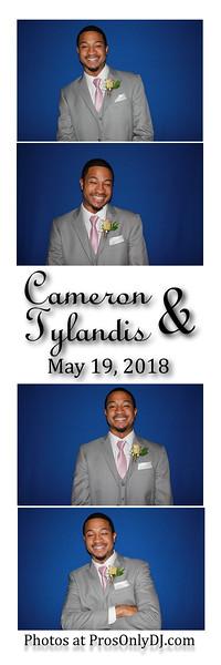 5-19-18 Cameron & Tylandis Wedding