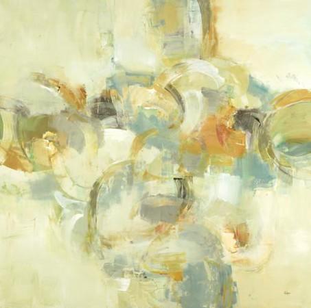 Hoola Hoop 2-Ridgers, 48x48 on canvas (AEAZAS16)