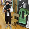 Tawana Roberts — The News-Herald <br> Loaan Williams portrays Leonardo da Vinci during the Living Wax Museum on May 23, 2017 at Hale Road Elementary School in Painesville Township.