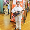 Tawana Roberts — The News-Herald <br> Hale Road Elementary fifth-grader Alex Martin gave presentation on Elvis Presley during the Living Wax Museum in May 23, 2017.