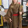 Tawana Roberts — The News-Herald <br> Evelyn Skowronsky gave presentation on Moses on May 23, 2017 for the Living Wax Museum project at Hale Road Elementary School in Painesville Township.