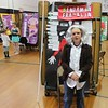 Tawana Roberts — The News-Herald <br> Colin Maltby portrays Benjamin Franklin on May 23, 2017 for the Living Wax Museum project at Hale Road Elementary School in Painesville Township.