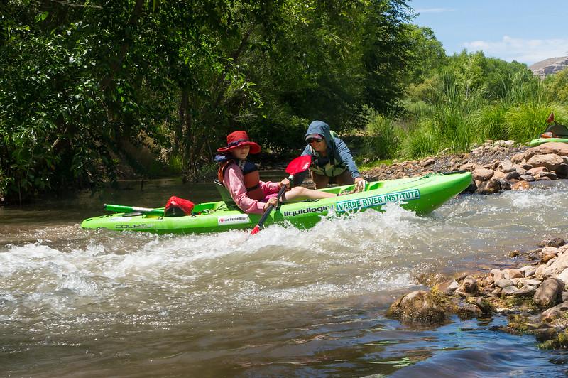 Verde River Institute Float Trip, Tapco to Tuzi, 5/24/17