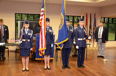 Bessemer Air Force Auxiliary Color Guard