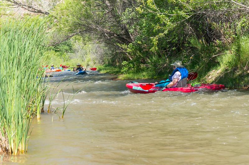 Verde River Institute Float Trip, Tapco to Tuzi, 5/6/17