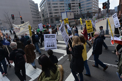 ANTI-WAR  INTERVENTION  IN  WASHINGTON  DC  2015   -   White  House  to    US  Capitol  Hill,  Washington  DC
