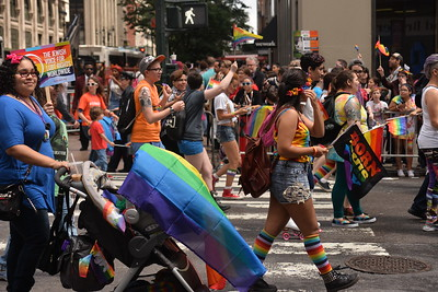 NEW  YORK  PRIDE  MARCH  2015   -   Fifth  Avenue,  Manhattan  NYC