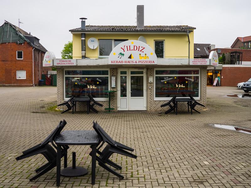 Kebab-Haus und Pizzeria