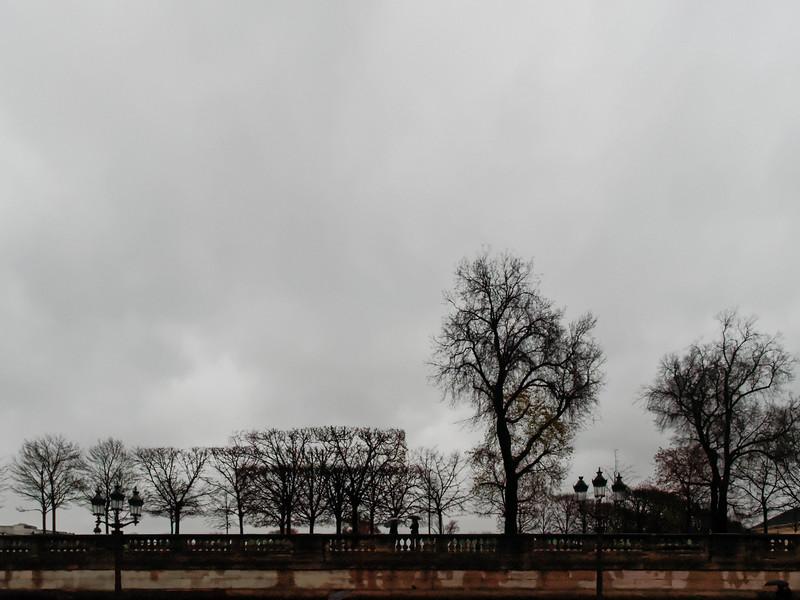 Terrasse de l' Orangerie von der Place de la Concorde