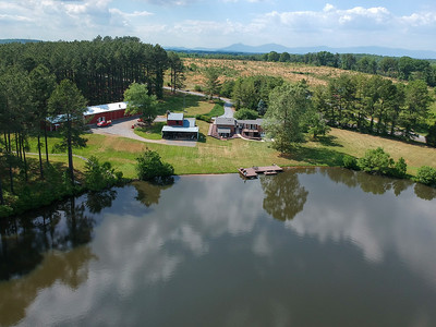 Beautifully situated ovelooking 3+ acres lake