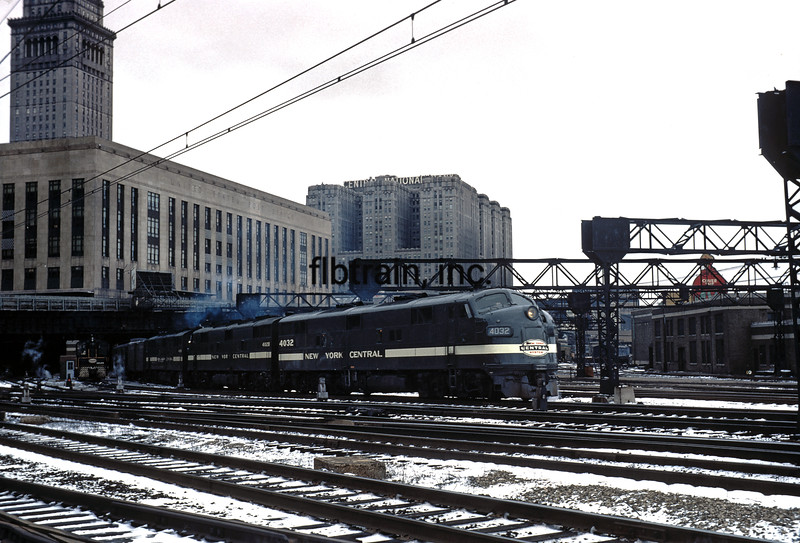 NYC1966030429 - New York Central, Cleveland, OH, 3/1966