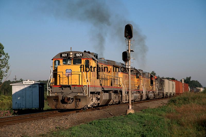 UP1997090466 - Union Pacific, Meeker, LA, 9/1997