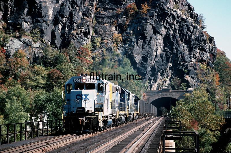 CSX1994100025 - CSX, Harper's Ferry, WV, 10/1994