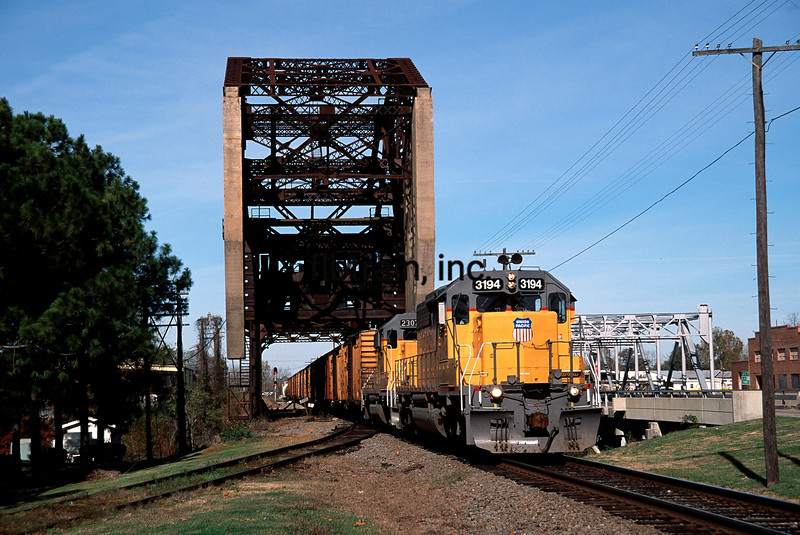 UP1993120014 - Union Pacific, Plaquemine, LA, 12/1993