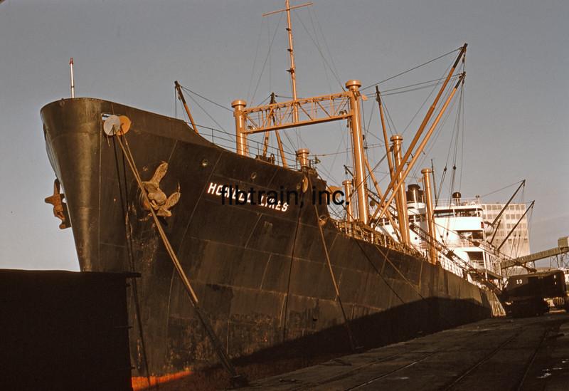 SHIP1956040032 - Ship, Port of Houston, TX, 4-1956