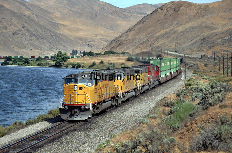 UP1992060016 - Union Pacific, Snake River, ID/OR, 6/1992