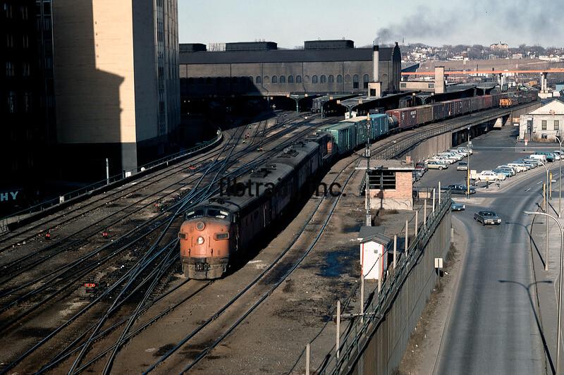 MR1968030126 - Milwaukee Road, St. Paul, MN, 3/1968