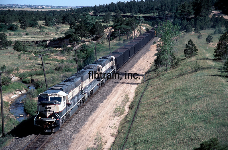 BNSF1996060504 - BNSF, Air Force Academy, CO, 6/1996