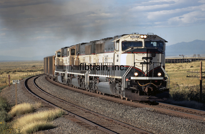 BN1995080008 - Burlington Northern, Bragdon, CO, 8/1995