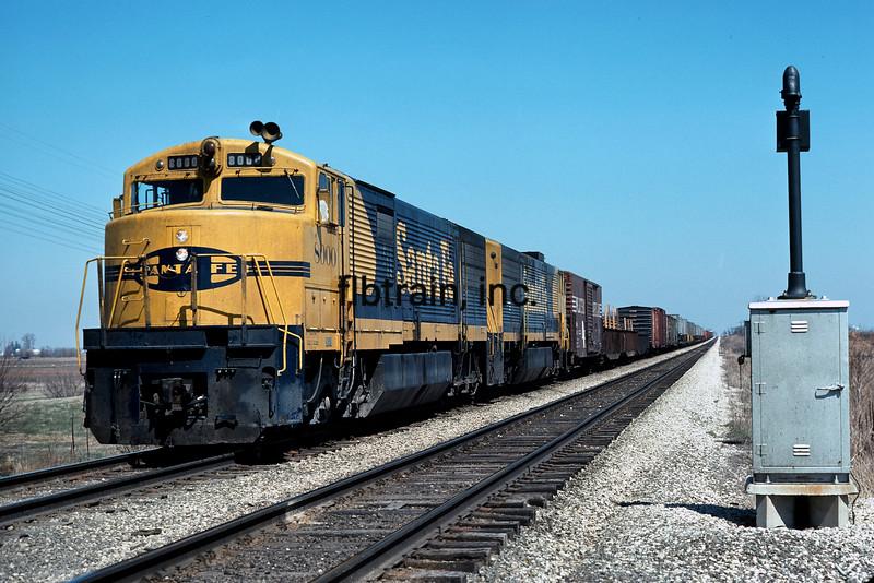 SF1977040017 - Santa Fe, Galesburg, IL, 4/1977