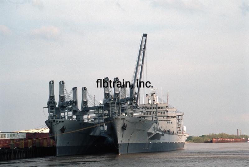 SHIP1990030042 - Ship, New Orleans, LA, 3-1990