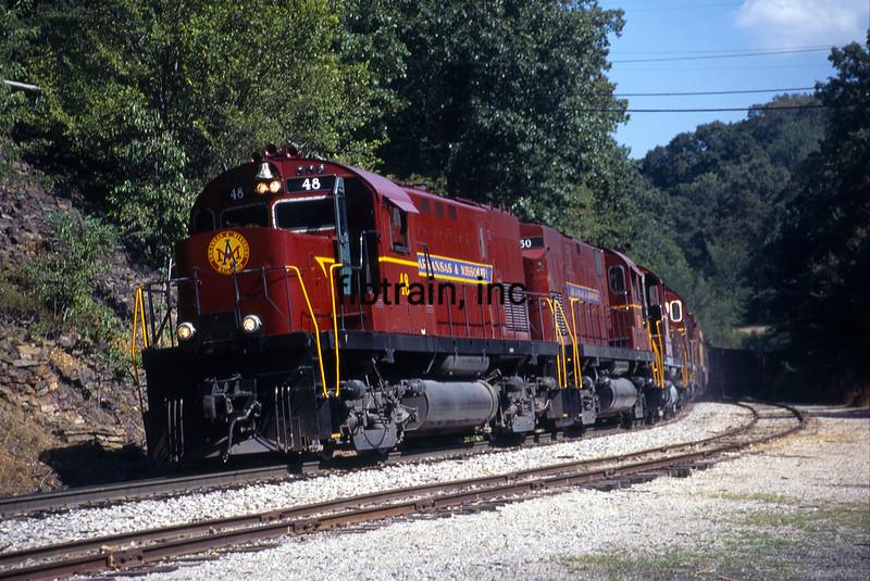AMO1999080006 - Arkansas & Missouri, Winslow Tunnel, AR, 8/1999