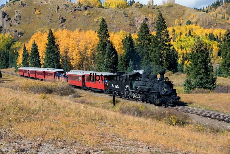 CT2008104503 - Cumbres & Toltec, CO/NM,  10/2008