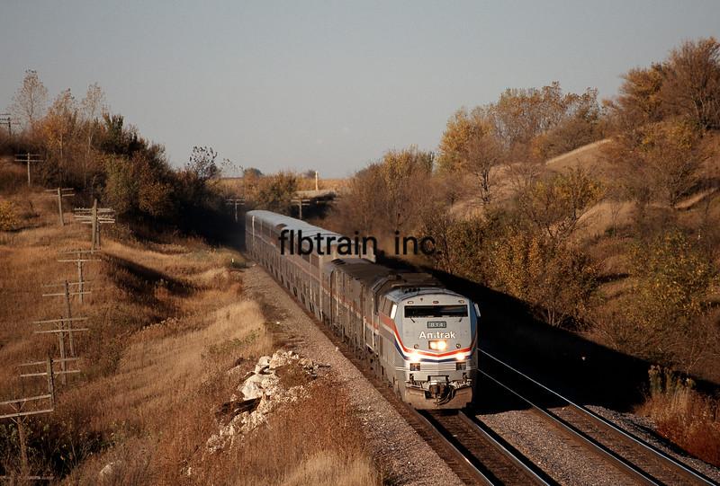 AM1996106001 - Amtrak, Red Oak, IA, 10/1996